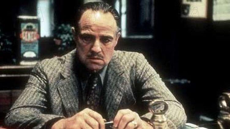 """Marlon Brando dans """"Le Parrain"""" de Coppola  (DR)"""