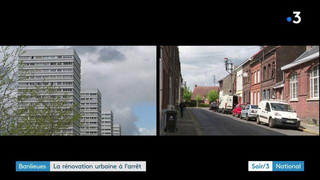 Banlieues : la rénovation urbaine à l'arrêt dans deux villes du Nord
