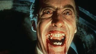 "Christopher Lee dans ""Le Cauchemar de Dracula"" (1958) de Terrence Fisher  (PHOTO12.COM - COLLECTION CINEMA / PHOTO12)"
