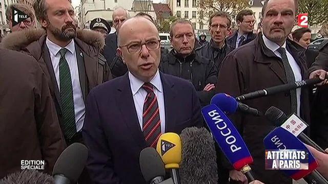 """Bernard Cazeneuve : """"Deux personnes sont décédées dont une femme par explosif"""""""