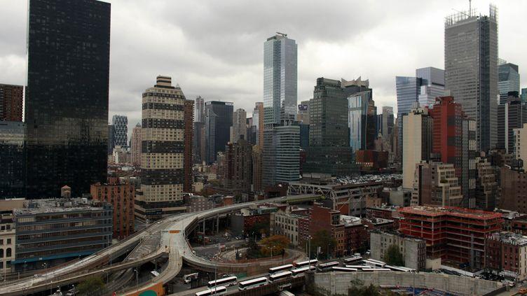 Vues du port du Port Authority Station de New York le 31 octobre 2012 (ALLISON JOYCE / GETTY IMAGES )