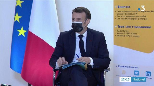 Education : Emmanuel Macron en visite à Nantes pour promouvoir l'égalité des chances