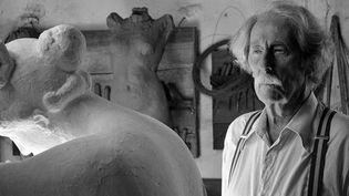 """Jean Rochefort dans """"L'Artiste et son modèle"""" deFernando Trueba  (Bac Films)"""