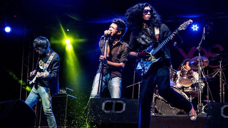 Le groupe de rock malgache enragé The Dizzy Brains, à voir aux Trans Musicales 2015  (Trans Musicales)