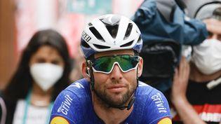 Mark Cavendish sur le Tour de Turquie, le 18 avril 2021. (MUSTAFA CIFTCI / ANADOLU AGENCY / AFP)