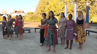 Les Suppliantes d'Eschyle - Théâtre du Tiroir  (France 3 Culturebox - capture d'écran)