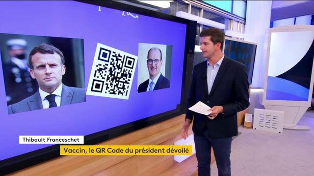 Vaccin contre le Covid-19 : après celui de Jean Castex, le QR Code d'Emmanuel Macron a fuité