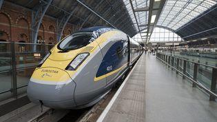 Une rupture de caténaire s'est produite le 20 novembre 2014 dans la soirée perturbant le trafic des Eurostar. (  MAXPPP)