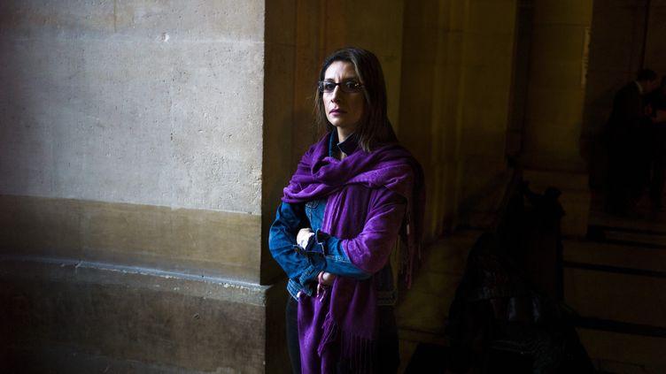 Nora Fraisse, le 14 novembre 2013. (FRED DUFOUR / AFP)