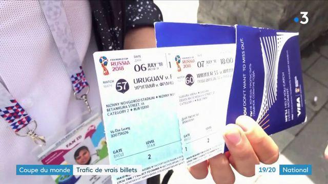 Coupe du monde : trafic de vrais billets