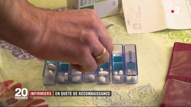 Santé : les infirmiers en quête de reconnaissance