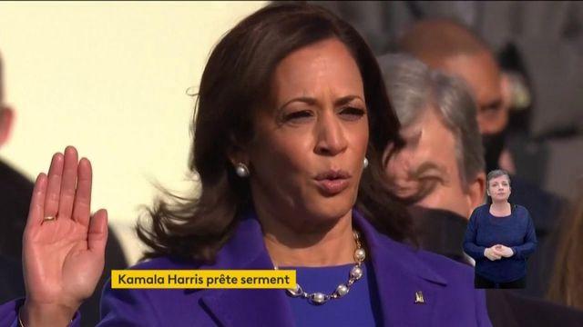 VIDEO. Investiture de Joe Biden : regardez la prestation de serment de Kamala Harris