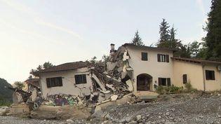Tempête Alex : un an après, une difficile reconstruction pour les sinistrés (France 3)