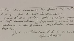 Une petite commune des Côtes-d'Armor a eu la bonne surprise de recevoir un leg d'1,3 million d'euros de la part d'un habitant décédé.  (FRANCE 2)