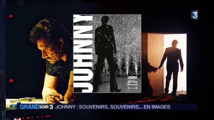 La couverure du livre Johnny de Daniel Angeli et Bernard Pascuito (France 3)