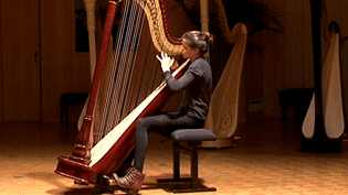 Le concours de harpe à Limoges réunit des instrumentistes de très bon niveau  (France 3 / Culturebox)