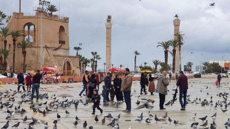 A Tripoli, capitale de la Libye, le 10 mars 2020 (MAHMUD TURKIA / AFP)