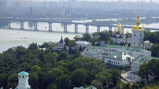 La ville de Kiev, en Ukraine, le 1er mai 2021. (IMAGEBROKER.COM / SIPA)