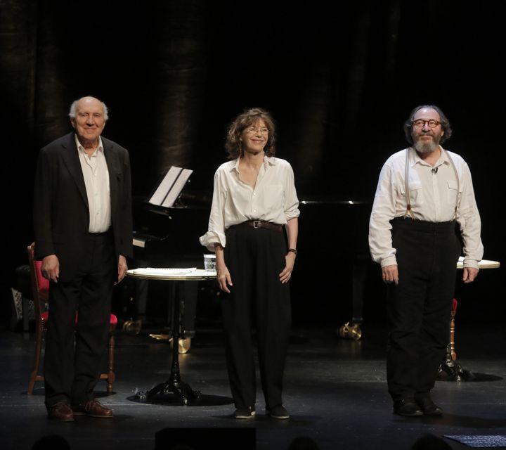 Jane Birkin Michel Piccoli et Hervé Pierre  (Pascal Victor)