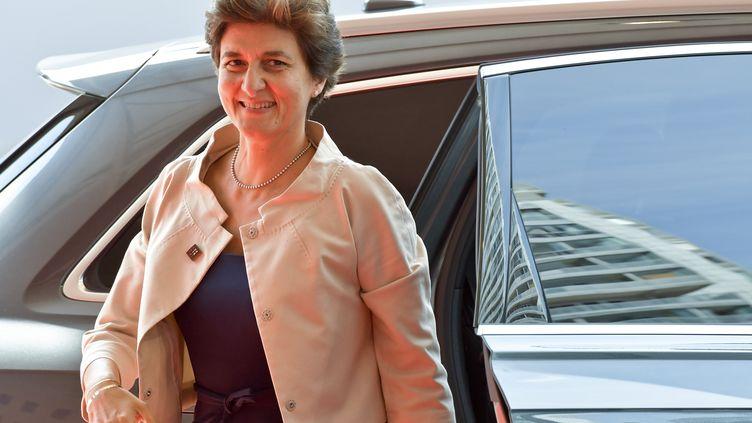 L'ancienne ministre Sylvie Goulard, à Vienne (Autriche), le 7 septembre 2018. (HERBERT NEUBAUER / APA)