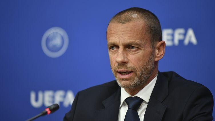 Aleksander Ceferin, le président de l'UEFA (HAROLD CUNNINGHAM / UEFA)