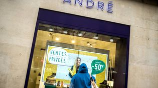 Le groupe Vivarte possède, entre autre, les magasins André. (BRUNO LEVESQUE / MAXPPP)
