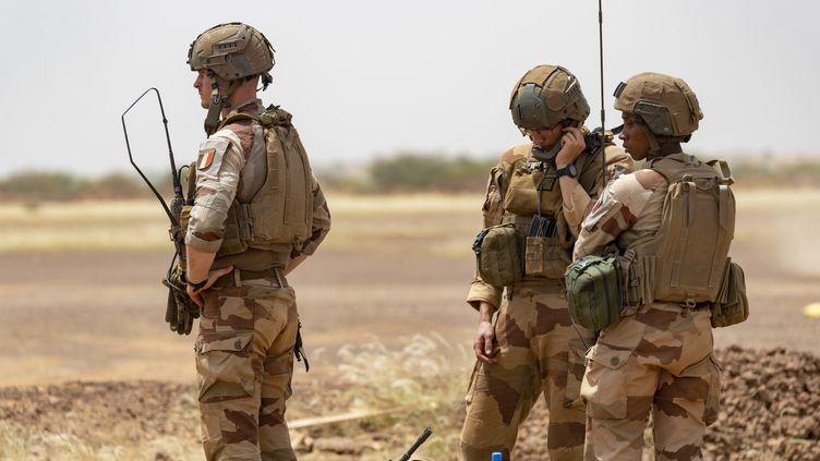 Des militaires de l'opération Barkhane au Mali. (SPEICH / MAXPPP)