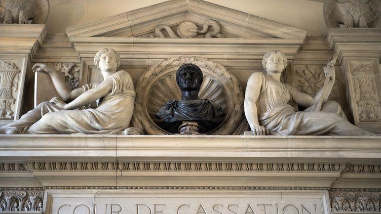 La Cour de cassation à Paris. (MARTIN BUREAU / AFP)