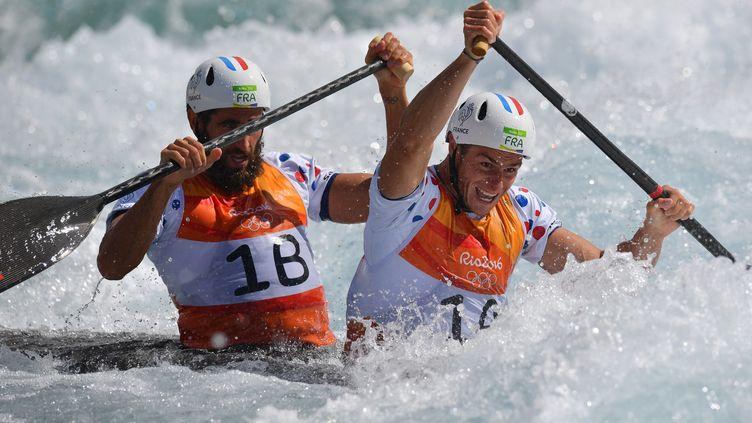 Gauthier Klauss et  Matthieu Péché ont navigué jusqu'au podium du C2