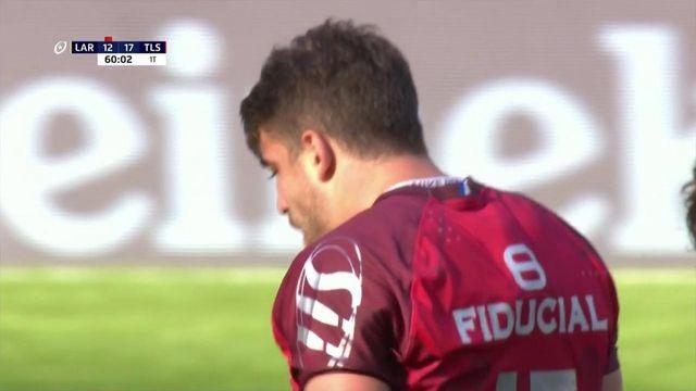 Juan Cruz Mallia inscrit le premier essai de la partie pour Toulouse !
