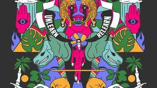 Affiche du Conscious Festival qui se tiendra à La Caserne en septembre 2021 (DR)