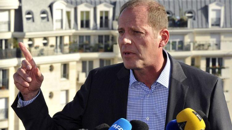 Christian Prudhomme, directeur du Tour de France cycliste, le 22 octobre 202 à Issy-les-Moulineaux. (MEHDI FEDOUACH / AFP)