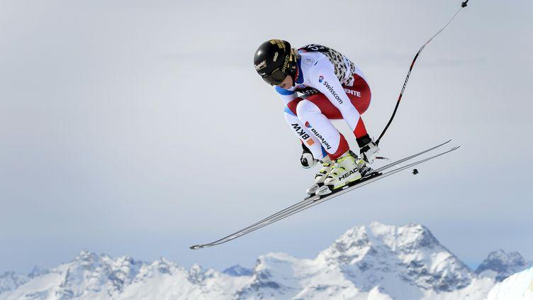 Lara Gut (FABRICE COFFRINI / AFP)