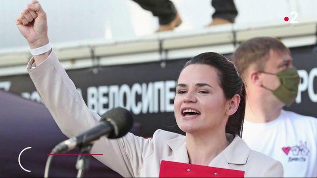 """Entretien avec l'opposante biélorusse Svetlana Tikhanovskaia : """"ma mission est de mener le pays vers de nouvelles élections"""""""