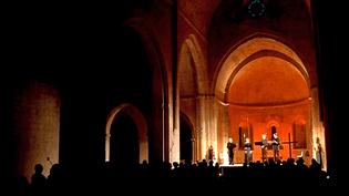 Un cadre exceptionnel pour ces Rencontres internationales de Musique médiévale.  (France 3 Côte d'Azur)