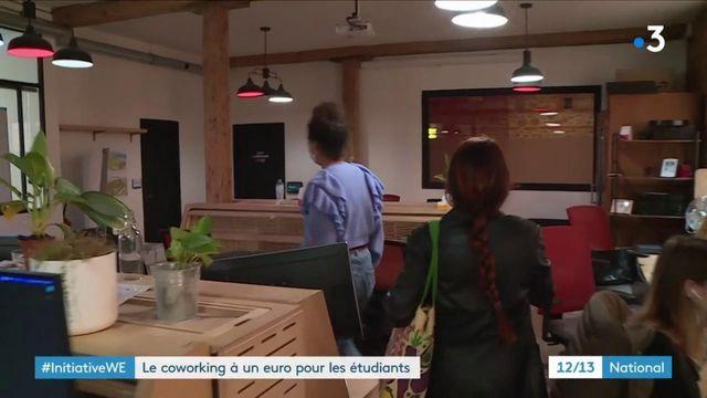 Solidarité : un espace de travail partagé à 1€ pour les étudiants