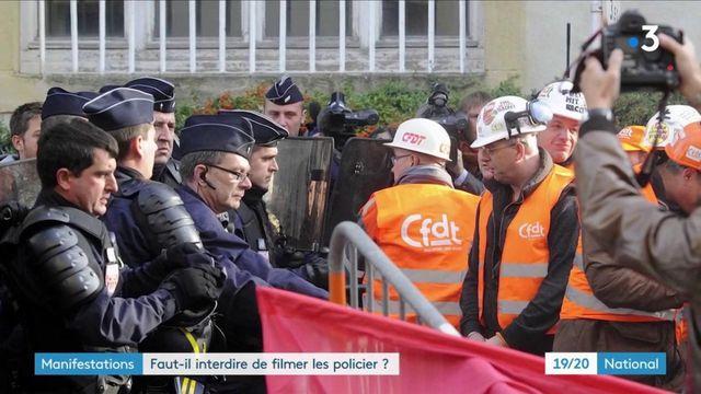 Manifestations : faut-il interdire de filmer les policiers ?