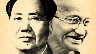 Mao et Gandhi sur l'affiche du festival de Pessac  (DR)