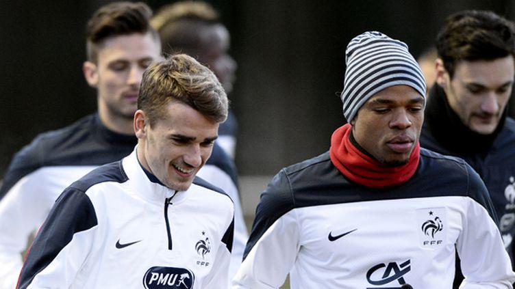 Griezmann, Rémy, Lloris et Giroud (FRANCK FIFE / AFP)