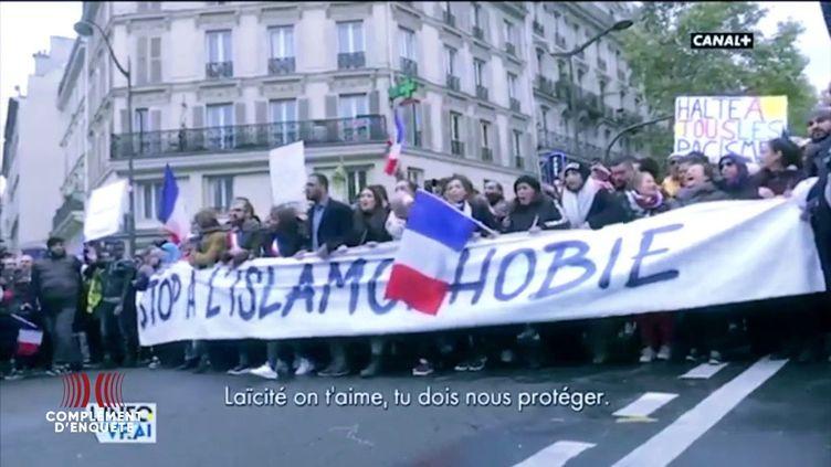 """Elus et islam: """"Complément d'enquête"""" revient sur une Marche contre l'islamophobie très polémique (COMPLÉMENT D'ENQUÊTE/FRANCE 2)"""