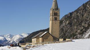 Six personnes sont mortes dans une avalanche à Ceillac (Hautes-Alpes), le 25 janvier 2015. (MAXPPP)