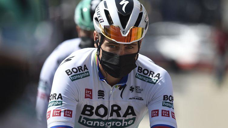 Peter Sagan sur le Tour de Catalogne. (JOSEP LAGO / AFP)