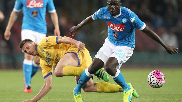 Le défenseur de Naples Kalidou Koulibaly (CARLO HERMANN / AFP)