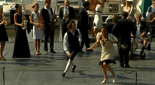 Ambiance déjantée sur scène  (France 3)