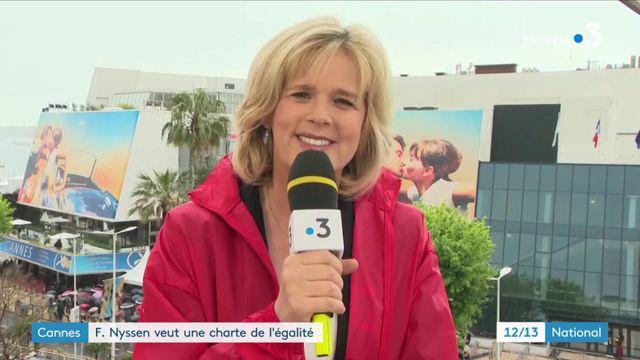 Cannes : Françoise Nyssen veut une charte de l'égalité