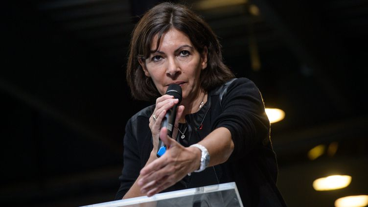 """(Anne Hidalgo demande de la """"méthode"""" sur le dossier de la candidature éventuelle de Paris aux JO 2024 © MaxPPP)"""