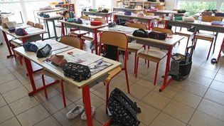 Une salle de classe. Photo d'illustration. (JEAN-MARC LOOS / MAXPPP)