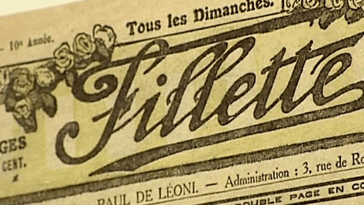 """L'hebdomadaire """"Fillette""""  (Capture d'écran / Culturebox)"""