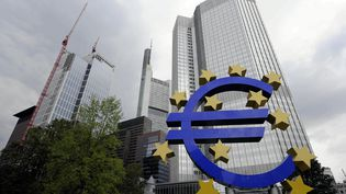 La Banque centrale européenne, à Francfort, le 11 septembre 2013. (MAXPPP)