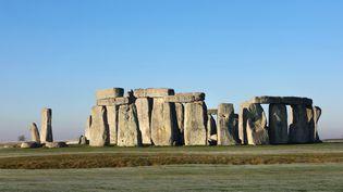 Les pierres du site de Stonehenge, en Angleterre  (Manuel Cohen / Mcohen / AFP)